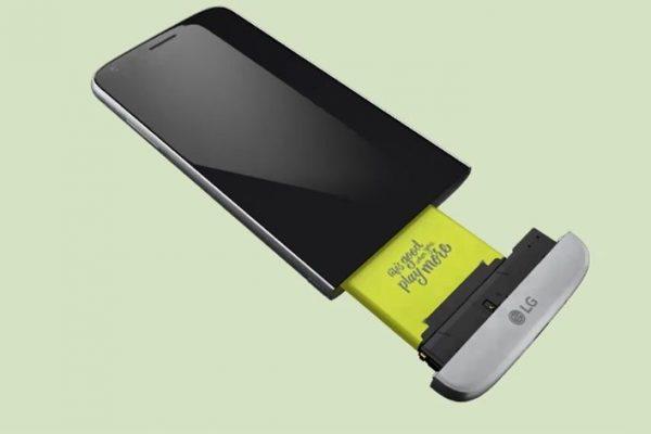 LG G6 poderá vir equipado com uma bateria removível