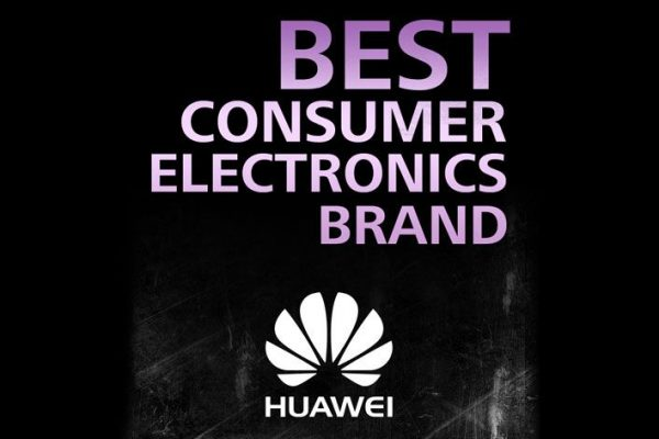 "Huawei é ""Best Consumer Electronics Brand 2016"""