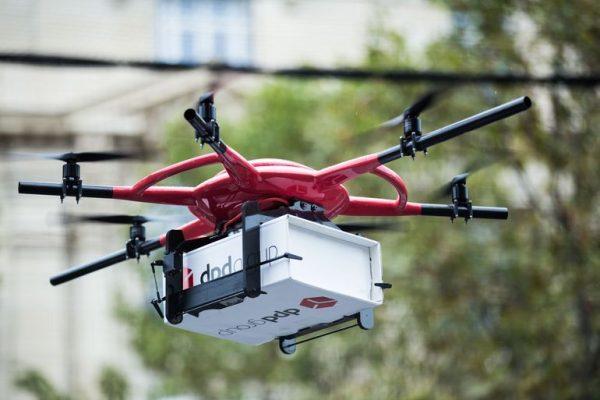 DPDgroup anuncia primeira rota comercial de entrega de encomendas por drones