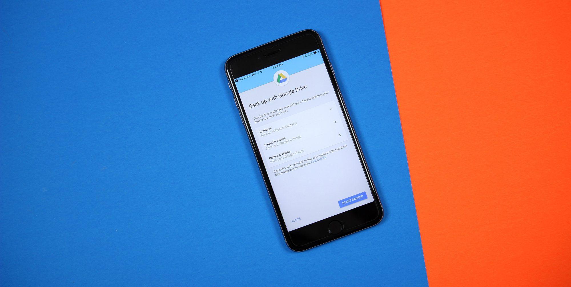 Google Drive iOS