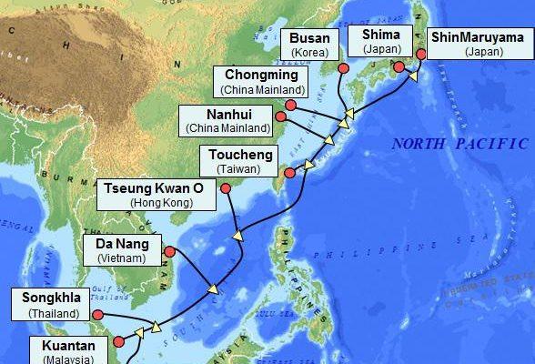 NEC completa Cabo Submarino na Ásia-Pacífico