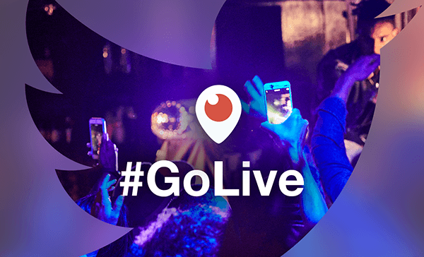 Twitter #GoLive