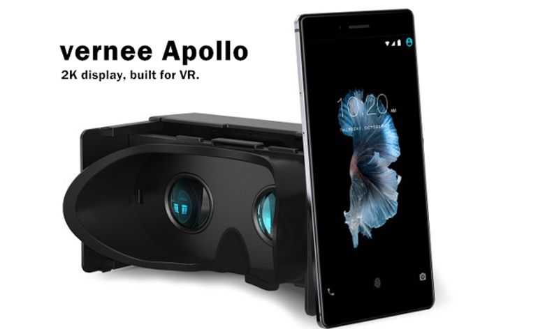 vernee apollo 1 flagship, Realidade Virtual, smartphone, Vernee, Vernee Apollo