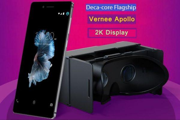Vernee Apollo é lançado com suporte a realidade virtual e processador deca-core