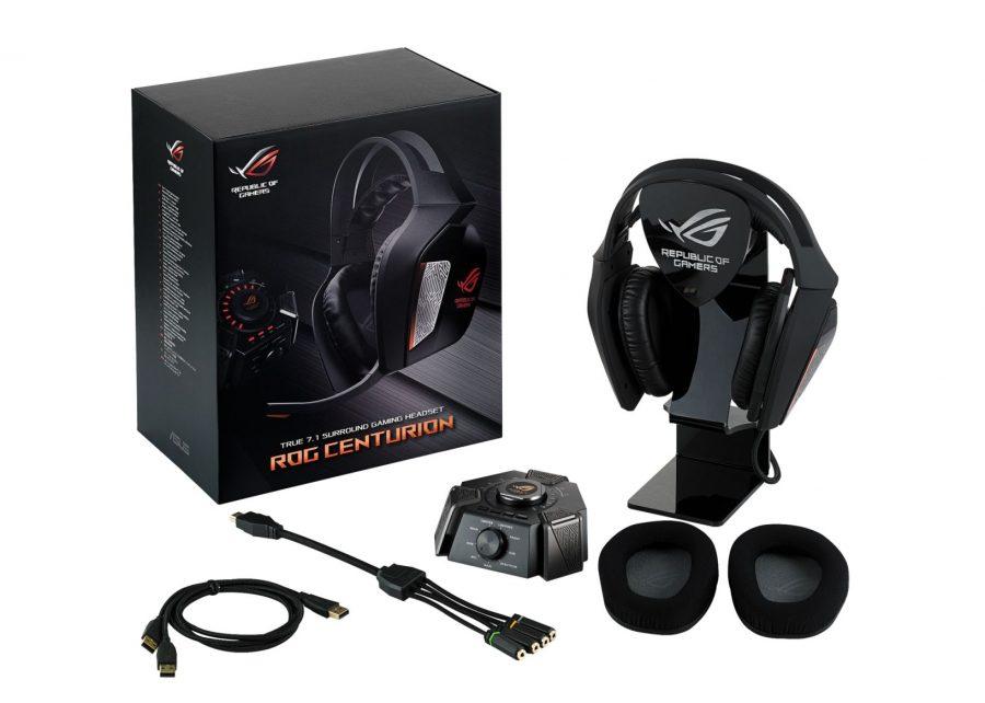 ASUS ROG Centurion 2 Asus, ASUS Republic of Gamers, auscultadores, gamers, gaming, headset, jogo, ROG, ROG Centurion