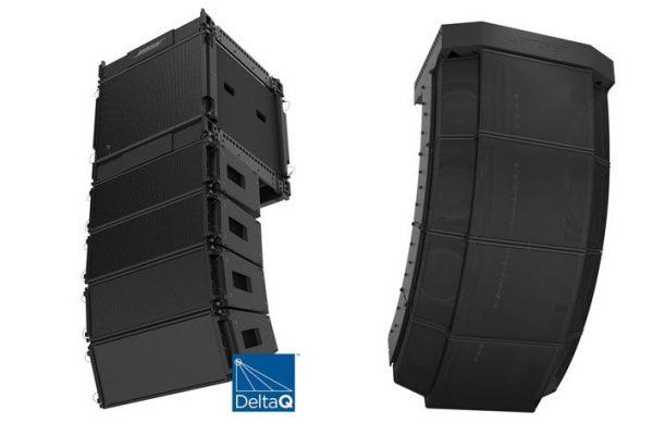 sistema de colunas em array Bose ShowMatch com tecnologia DeltaQ