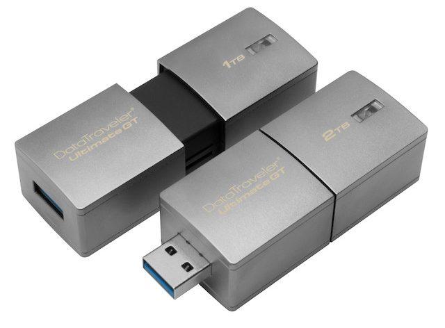 CES 2017 Kingston pen USB 2TB