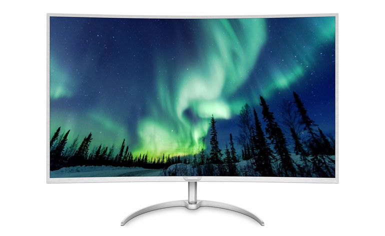 monitor LCD Philips Brilliance 4K Ultra HD de 40 polegadas com MultiView