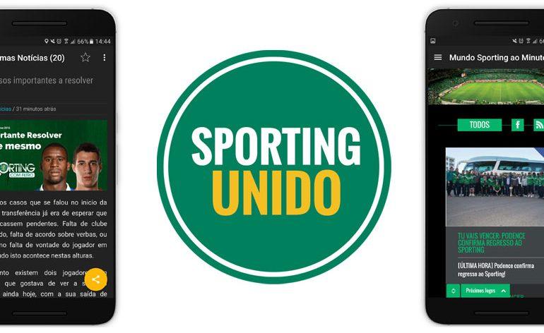Sporting Unido: A app móvel que agrega notícias do SCP em tempo real