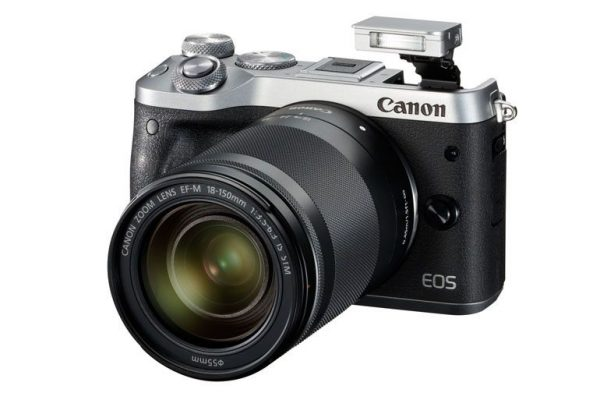 Canon revela a EOS M6, uma nova mirrorless com Wi-Fi e sensor de 24.2 MP