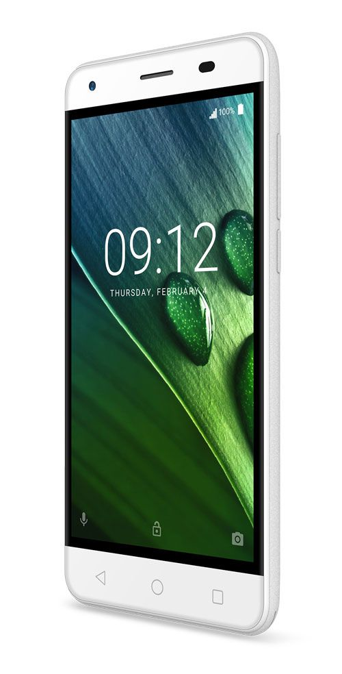 Liquid Z6E white 03 Acer, Android 6.0, Liquid Z6E, Portugal, smartphone