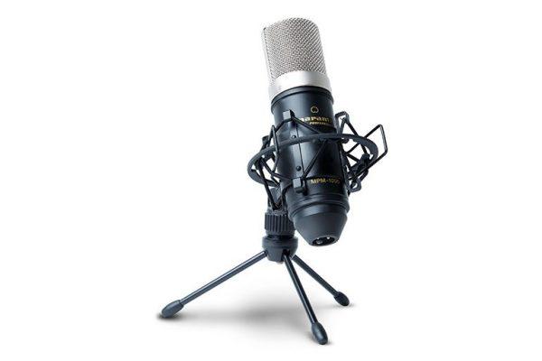 Marantz MPM-1000: Um microfone acessível para podcasters e YouTubers