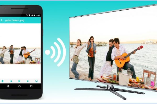 Como transmitir vídeo e áudio do dispositivo móvel para a Smart TV