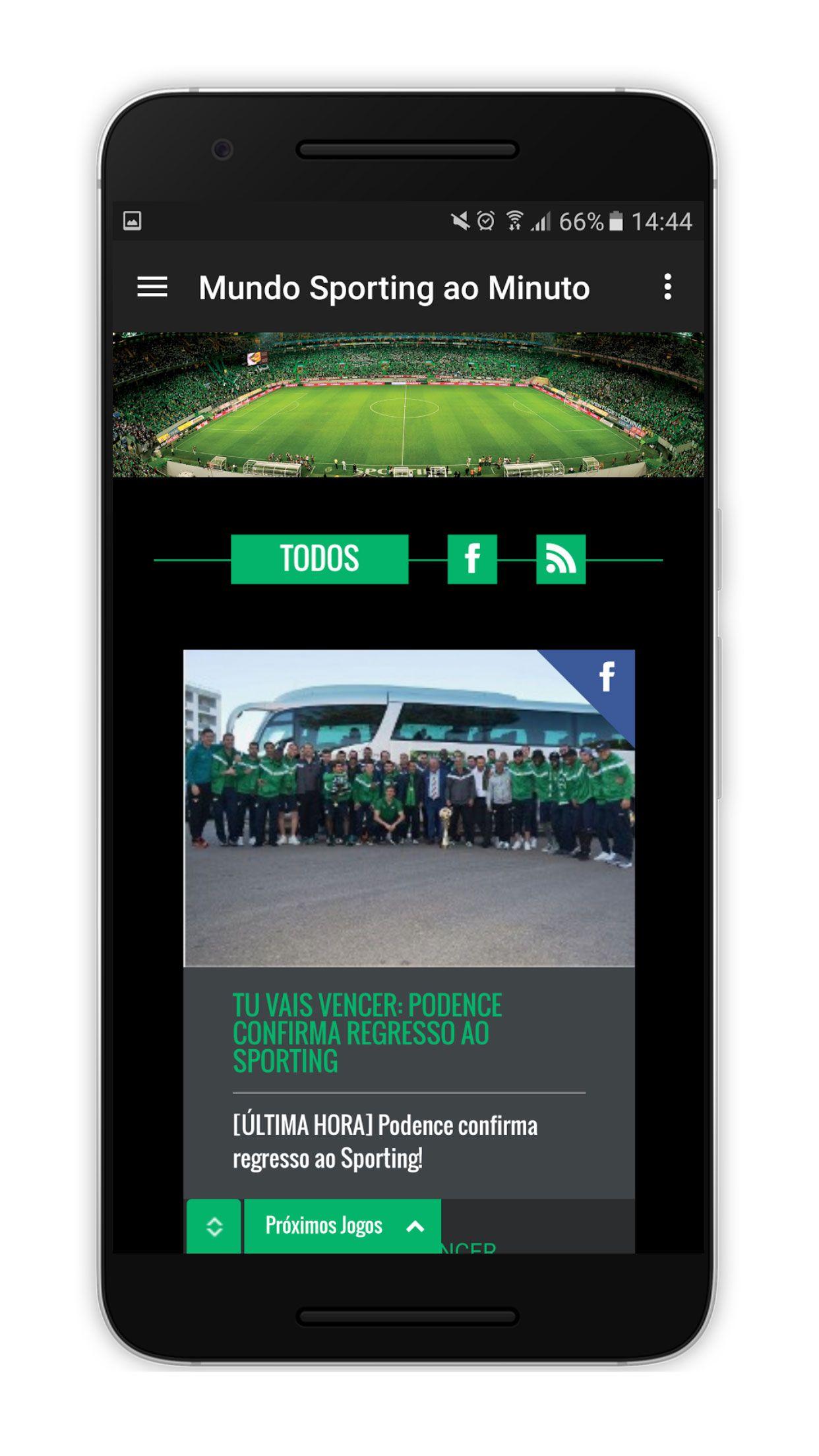 SportingUnido Android Screenshot 4 Android, aplicação, App, futebol, Google Play, Notícias, Sporting Clube de Portugal, Sporting Unido