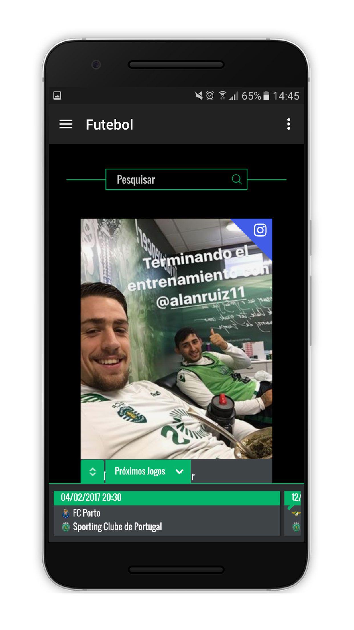 SportingUnido Android Screenshot 5 Android, aplicação, App, futebol, Google Play, Notícias, Sporting Clube de Portugal, Sporting Unido