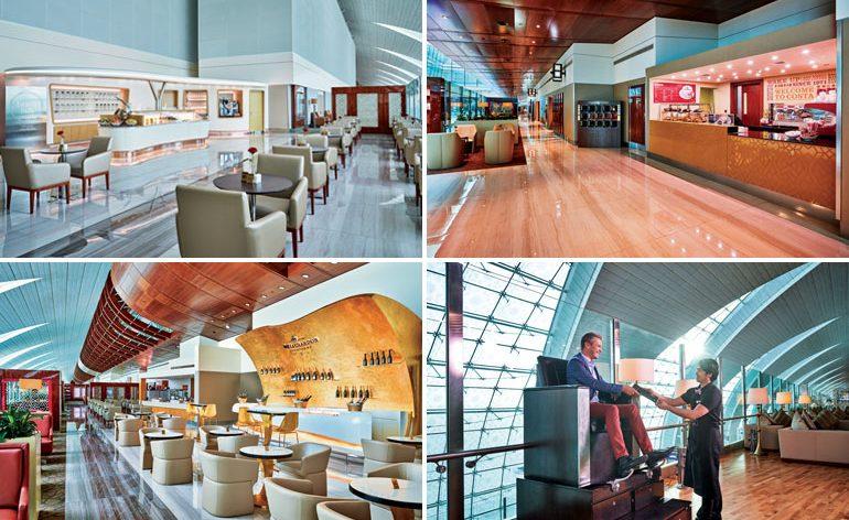 Emirates abre acesso aos seus lounges premium no Aeroporto Internacional do Dubai