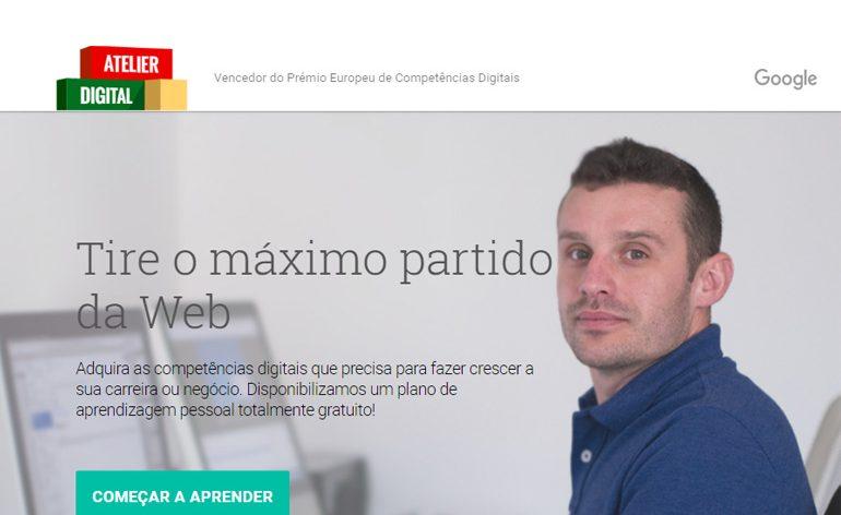 Atelier Digital da Google formou mais de 15 mil portugueses em 3 meses