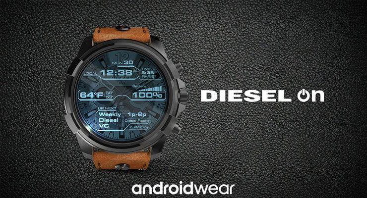 DieselON 1 android wear, Android Wear 2.0, diesel, google, Hugo Boss, smartwatch, Tommy Hilfiger