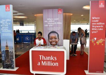 """Emirates Skywards comemora outro """"Miles Millionaire"""""""