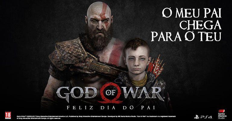 PlayStation Portugal comemora Dia do Pai com God of War
