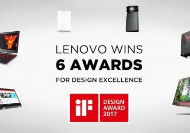 Lenovo conquista 6 prémios por Design de Excelência