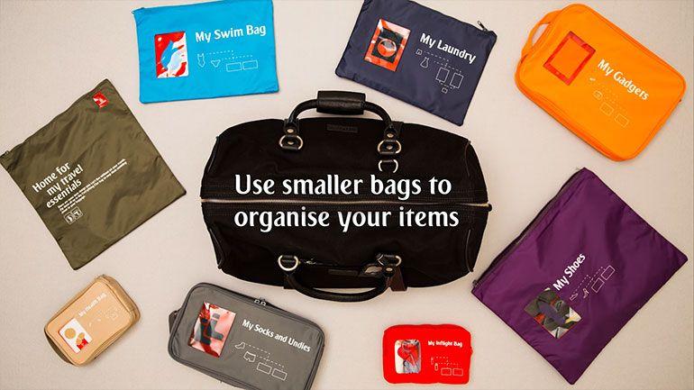 Faça as malas com a Coleção Urban Travellers da Emirates