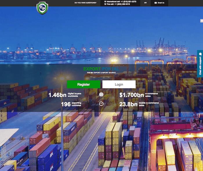Export portal Export Portal, exportação, ExportPortal.com, importação