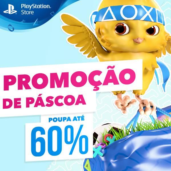 Descontos até 60% na grande Promoção de Páscoa da PlayStation Store