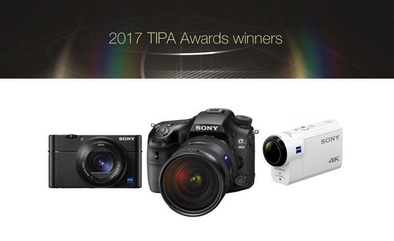 Sony distinguida com três prémios TIPA 2017