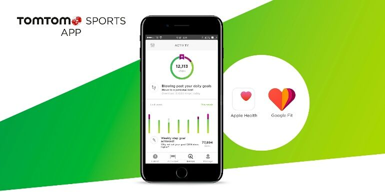 App TomTom Sports já pode ser sincronizada com Google Fit e Apple Health