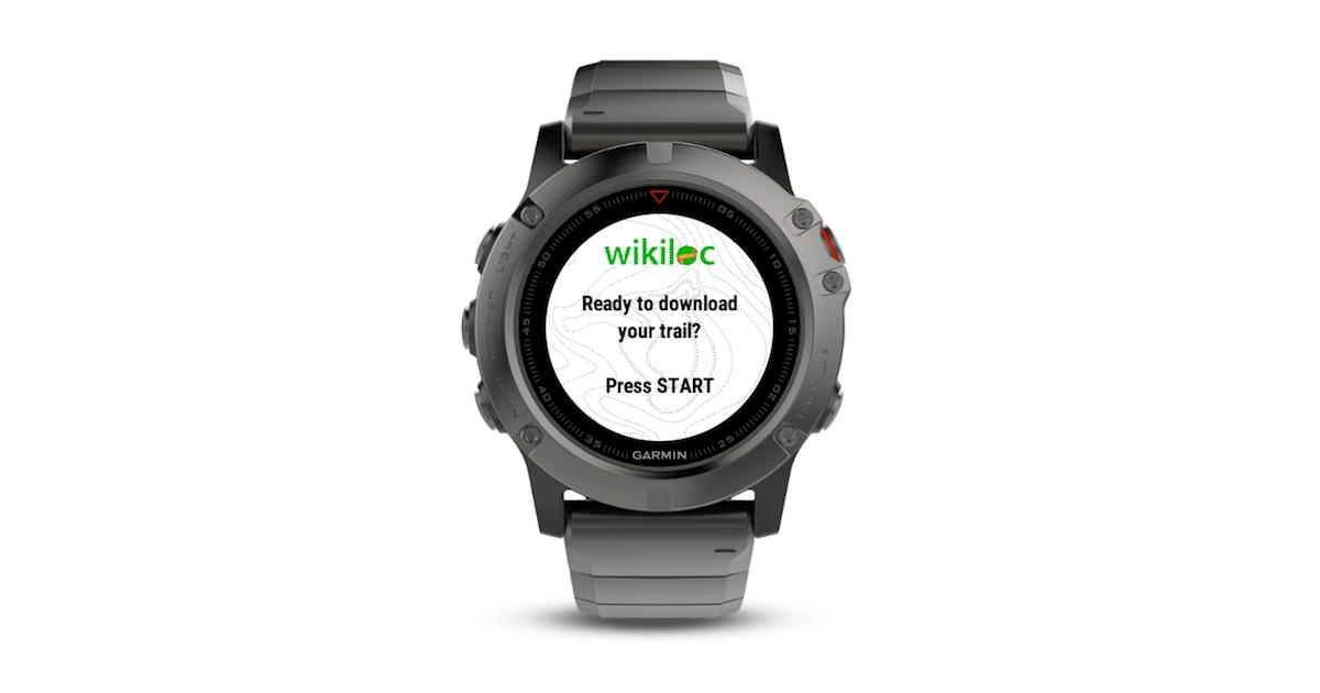 Wikiloc coloca rotas do mundo em GPS Garmin
