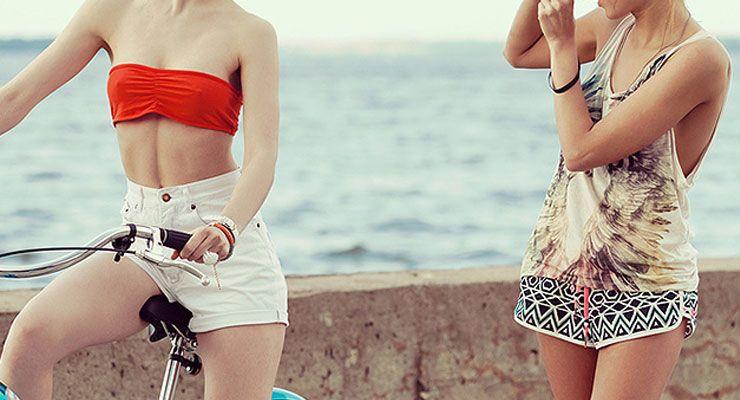 calções moda Verão