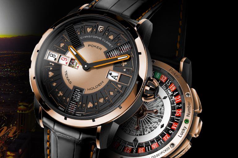 Poker, da consola digital ao relógio de pulso