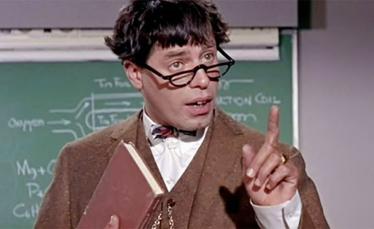 Jerry Lewis, Um Aloprado Professor da Arte de Fazer Rir