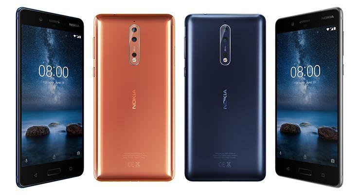 Nokia 8 topo de gama