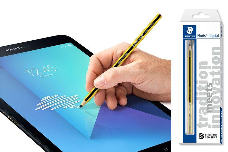 Lápis Staedtler Noris digital, compatível com produtos Samsung, chega a Portugal