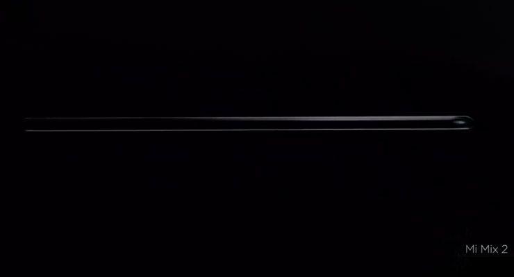 XiaomiMi2 bezel-less, Mi Mix 2, sem margens, topo-de-gama, Xiaomi, Xiaomi Mi Mix 2