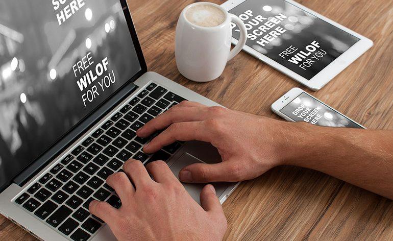 sabia que criar um site pode ser simples e rápido