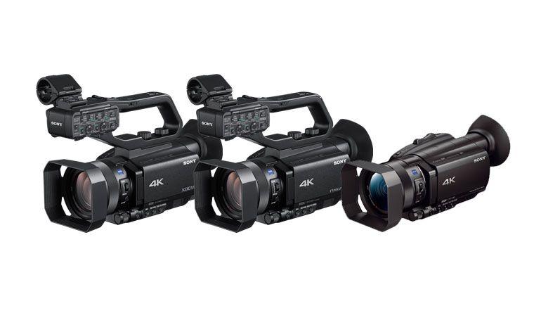 Sony anuncia 3 novas câmaras de vídeo 4K HDR