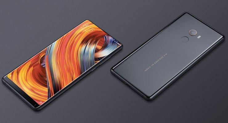 XiaomiMiMix2 4 bezel-less, Mi Mix 2, MIUI 9, sem margens, smartphone Android, topo-de-gama, Xiaomi, Xiaomi Mi Mix 2