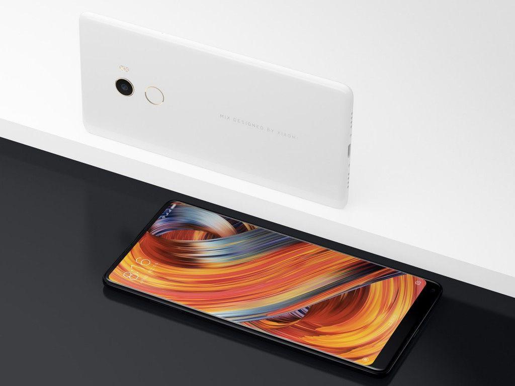 XiaomiMiMix2 6 bezel-less, Mi Mix 2, MIUI 9, sem margens, smartphone Android, topo-de-gama, Xiaomi, Xiaomi Mi Mix 2