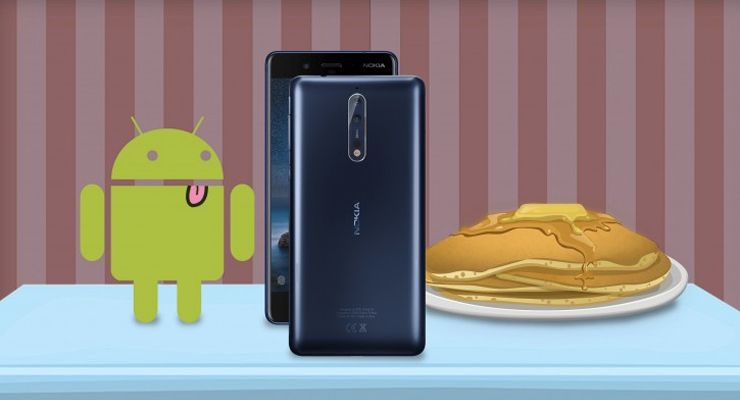 HMD Global Nokia Android P