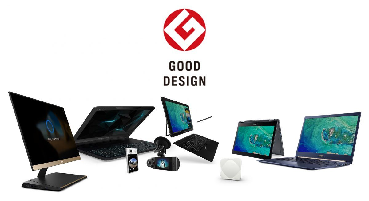 Acer: 8 prémios conquistados no Good Design Awards 2017