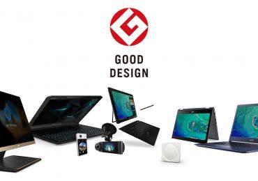 Acer: 8 prémios conquistados no Good Design Awards 2017