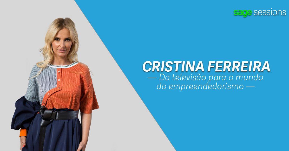 Cristina Ferreira partilha o seu percurso pelo mundo dos negócios nas Sage Sessions