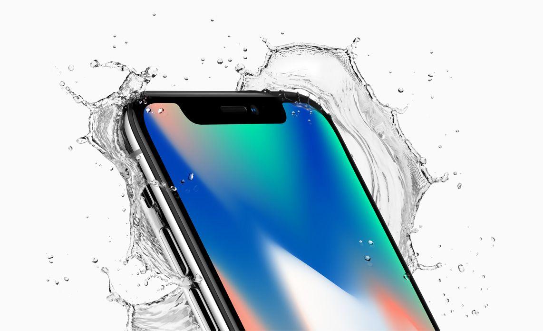 iphonex front crop top corner splash apple, dicas, iPhone X, truques