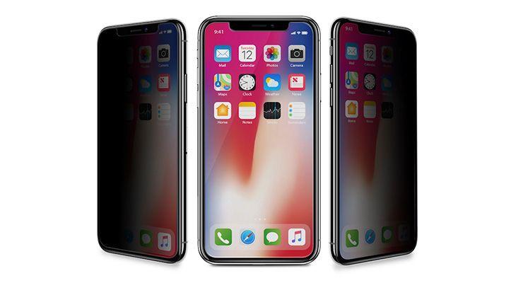 iPhone X tem Vidro de Privacidade