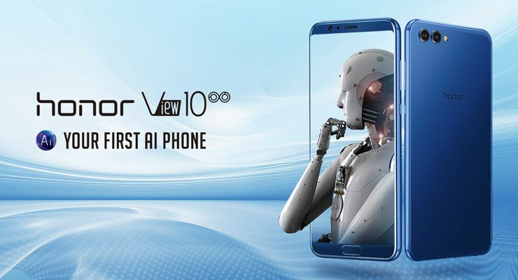 Honor View 10 AI