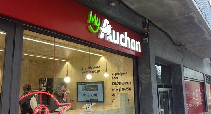 My Auchan de Campolide, Queluz e Graça equipados com tecnologia Gateway