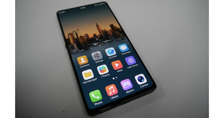 bezel-less, sem moldura, smartphone Android, topo-de-gama, vivo, Vivo Apex